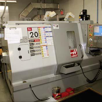 """Haas SL-20 Lathe 10.3"""" O.D. x 20"""" Length Capacity"""