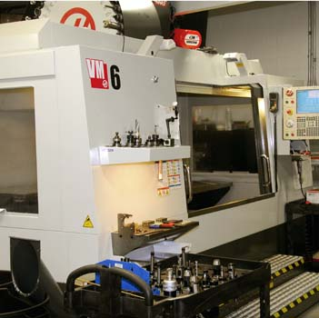 "Haas VM-6 Multi Axis Milling Machine 64"" x 32"" x 30"" Table Travel with 40 tool holder"